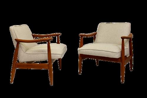 Paire de fauteuils GFM-87 Juliusz Kedziorek 1960.REF DIANE