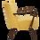 Thumbnail: Fauteuil vintage année 50 restauré.Ref Limouna