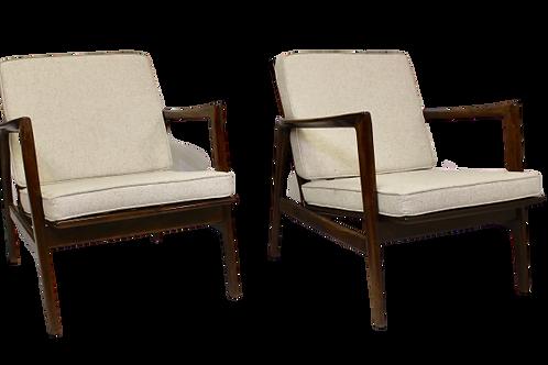 Paire de fauteuils par Stefan de Swarzędzkie Fabryki Mebli, 1960 REF BILBAO