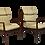 Thumbnail: Paire de fauteuil GRETE JALK 1960 Danemark. REF GRETE JALK