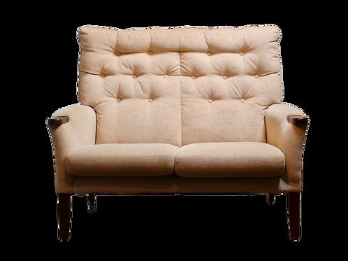 Canapé vintage 2 places années 50