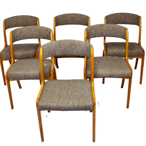 Set de 6 chaises réf: gondole Baumann année Ref: GANDOLE70 restaurées.