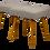 Thumbnail: Paire de tabourets année 1950 style scandinave