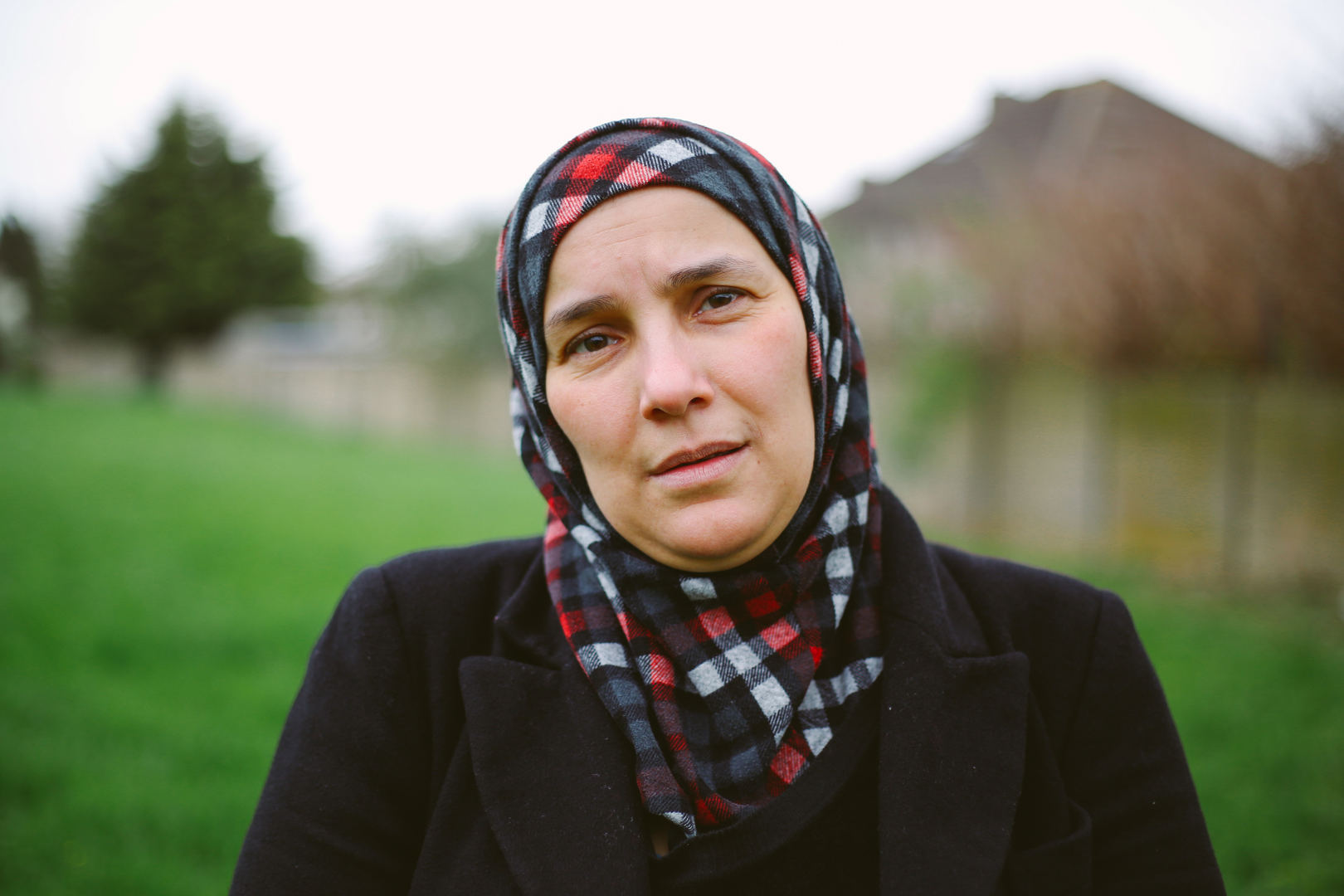This is Imane Bakdaliah, she has been in the UK for 4 years.