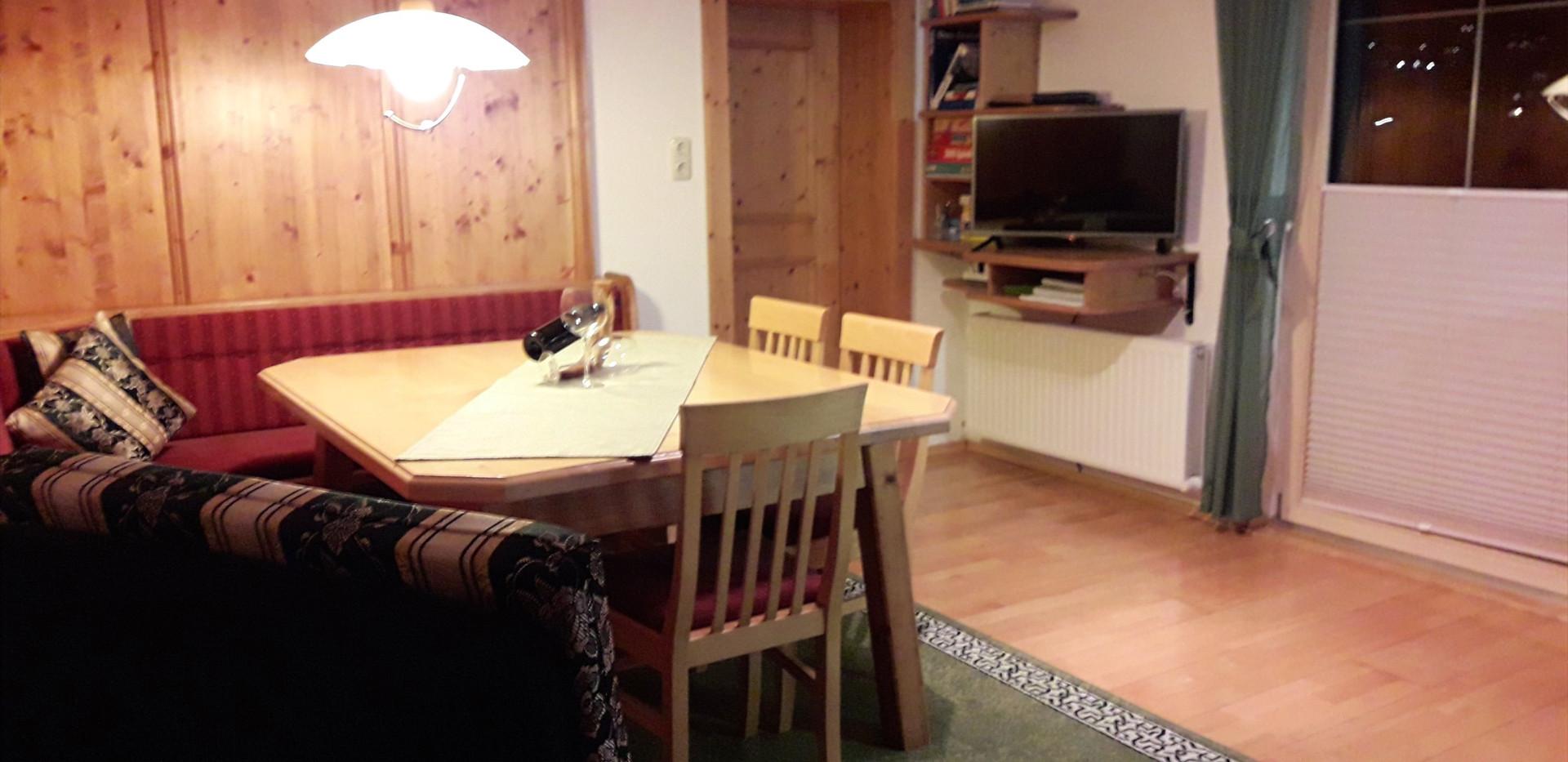 Tischecke- Wohnküche