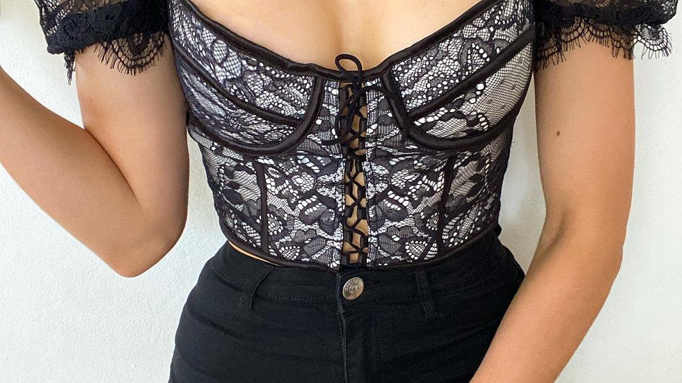 'Nicki' Lace top