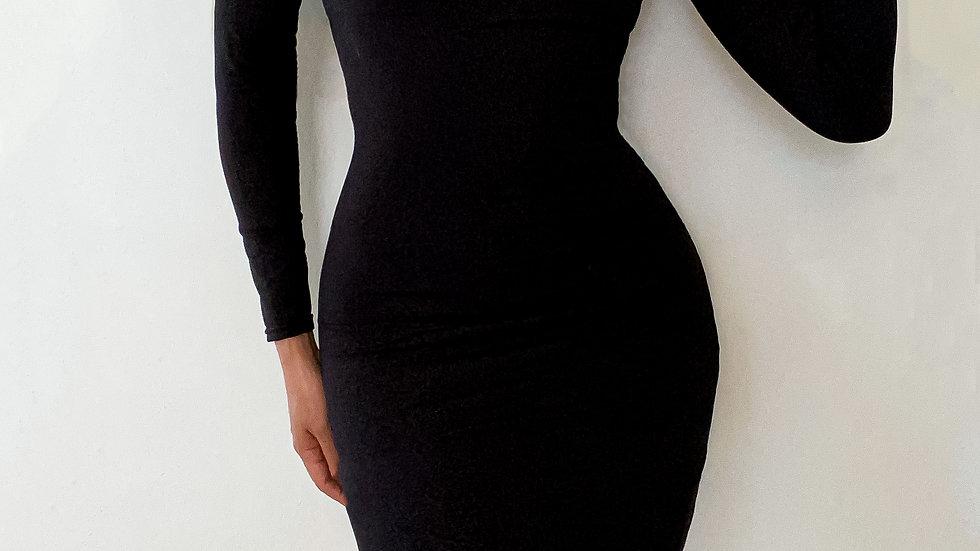 Black 'Lana Kane' body con