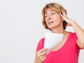 Why we get hot flushes during Menopause and can food help?