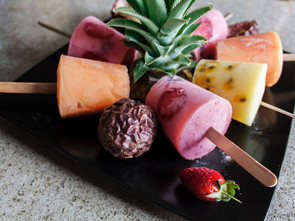 Coconut Water and Fruit Ice Lollies