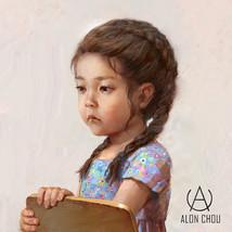 Melancholy little girl / 憂鬱的小女孩