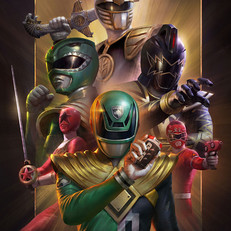 POWER RANGER: SOUL OF THE DRAGON (Variant)