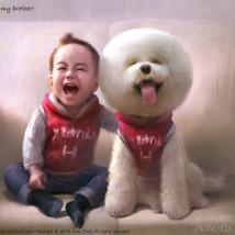 He is my brother / 他是我兄弟
