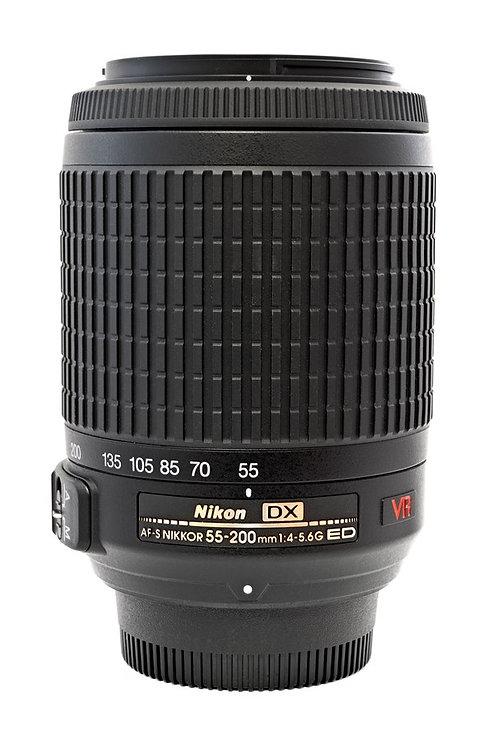 Objetiva Nikon 55-200 - USADA