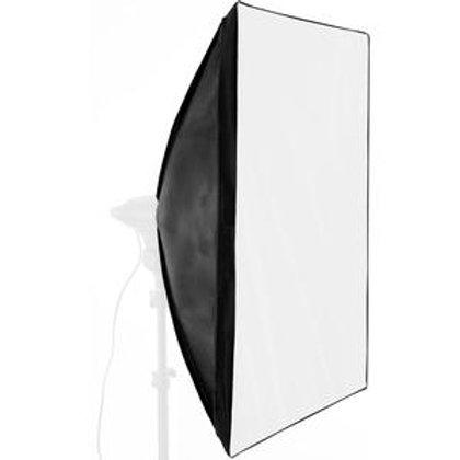 Softbox de 90X90cm com Instalação Rápida para Flash Tocha