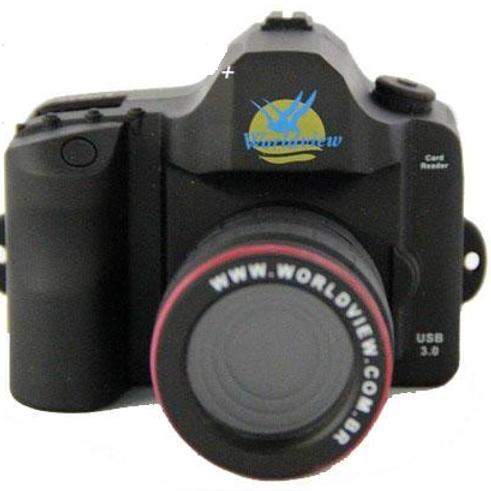 Leitor de Cartão Formato de Câmera