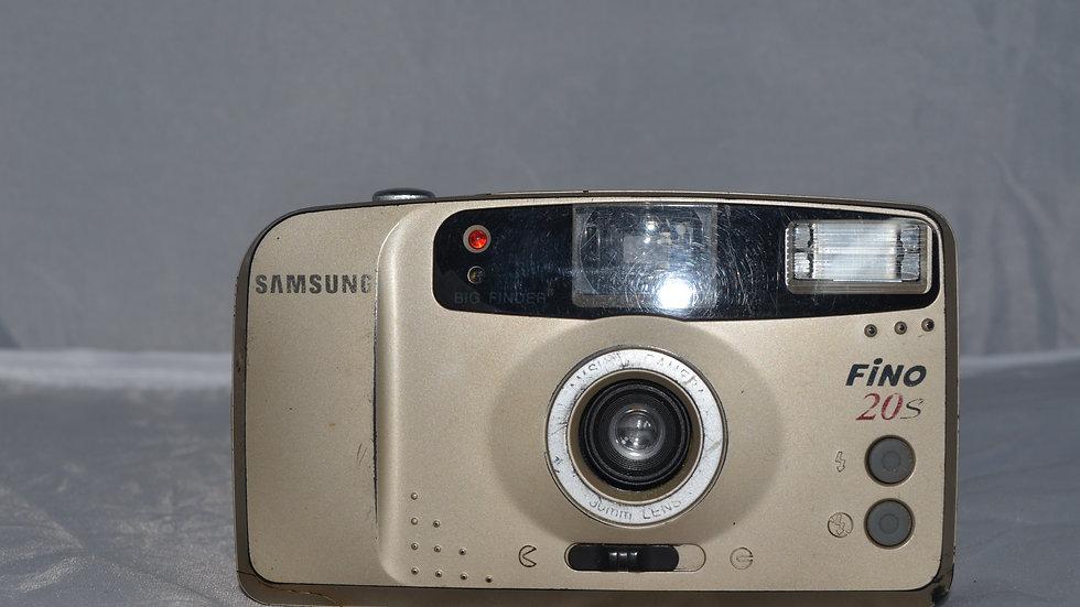 Câmera Analógica Samsung Fino 20s
