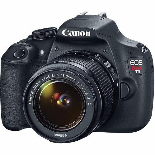 Canon T5 Com Lente 18-55mm
