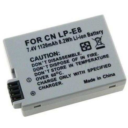 Bateria LP-E8 para Canon T3i, T4i e T5i