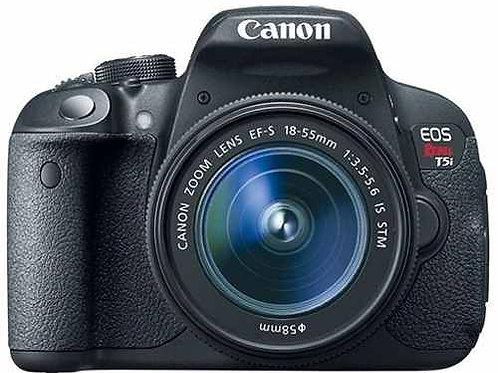 Canon T5i com lente 18-55mm