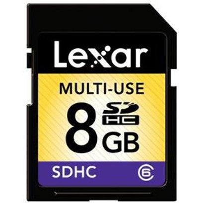 Cartão SD 8GB - Lexa