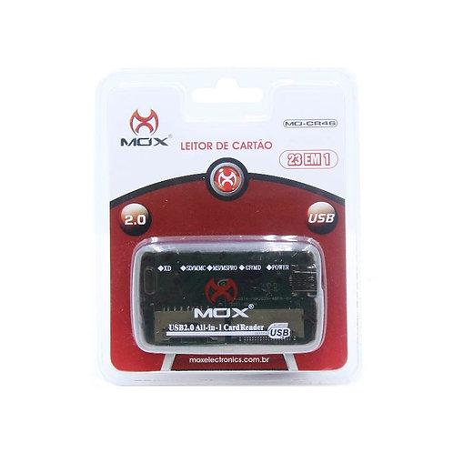 Leitor de Cartão Mox 23 em 1 USB  2.0