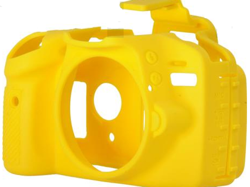 Capa Para Nikon D3200 - Amarela