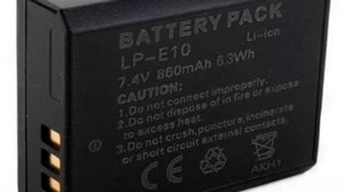 Bateria para Canon E10, T3,T4,T5,T6