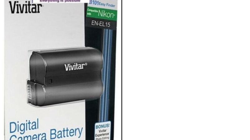 Bateria Vivitar para Nikon EL15 para Nikon D600,D610,D7000,D7100,D7200