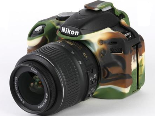 Capa Para Nikon D3200 - Camuflada