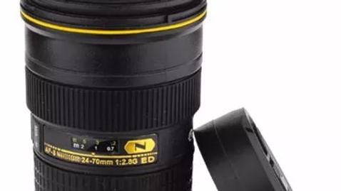 Copo Térmico alusão Nikon 24-70