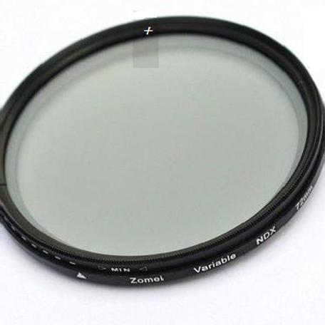 Filtro de Densidade Váriavel NDX 72mm