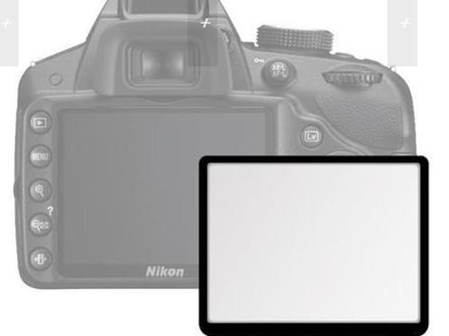 Protetor de LCD para Nikon D5200 de Acrílico