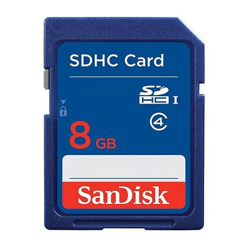 Cartão de Memória Sandisk 8GB