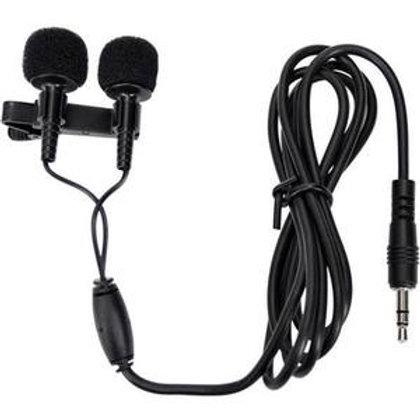 Microfone de Lapela Yoga EM-6 Estereo