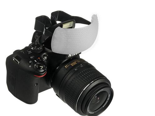 Difusor para Cameras Canon Nikon Fuji e Pentax