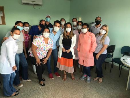 CAPS AD III realiza treinamentos nos postos de saúde de Luís Eduardo Magalhães