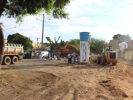 Centro de Barreiras terá nova praça e estacionamento público