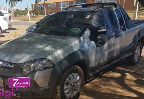 Carro recuperado pela PM é roubado em frente a delegacia de LEM