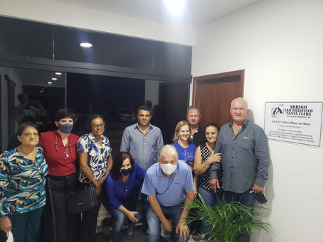 Abrigo São Francisco Santa Clara inaugura nova ala e realiza cerimônia de posse da nova diretoria
