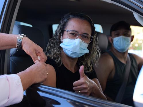 COVID-19: Luis Eduardo Magalhães inicia vacinação de pessoas a partir dos 43 anos nesta segunda