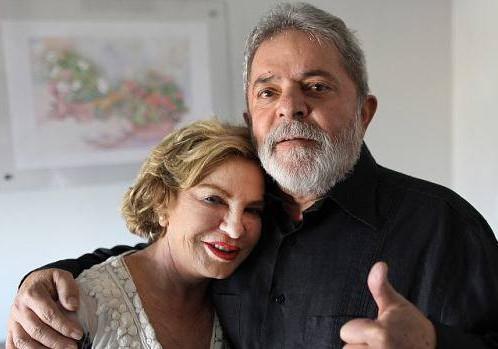 Mulher de Lula está em estado grave e respira com aparelhos