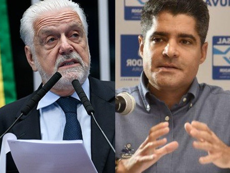 Jornal: Pesquisa que mostra ACM Neto à frente muda o humor de Jaques Wagner