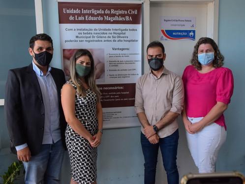 Projeto Nascendo Cidadão já está em funcionamento na Maternidade Dr. Gileno de Sá