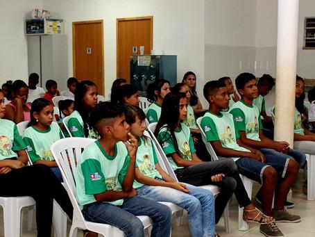 Prefeitura de LEM forma nova turma de Agentes Ambientais Mirins