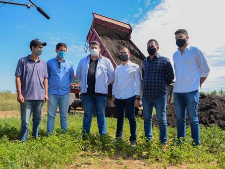 Projeto piloto da Agricultura familiar é lançado na zona rural de Luís Eduardo Magalhães