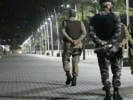 Governo prorroga toque de recolher e proibição de eventos em toda a Bahia até 10 de maio
