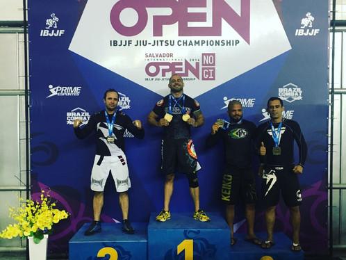 Depois de nove anos sem competir, Luciano Soares retorna e conquista campeonato internacional de Jiu