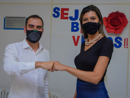 Secretaria de Trabalho e Assistência Social apresenta resultados ao prefeito Junior Marabá