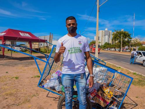 Coleta seletiva sustentável garante a subsistência de mais de 30 famílias em Luís Eduardo Magalhães