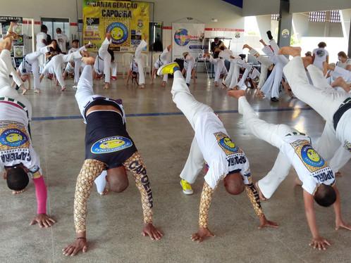 1º Copa de Capoeira Santa Geração foi realizada neste sábado (09), em Luís Eduardo Magalhães